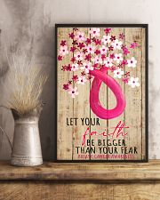 Let your faith be bigger than your fear 11x17 Poster lifestyle-poster-3