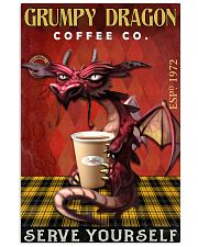 Grumpy dragon coffee co 11x17 Poster front