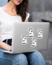 Boo boo crew Sticker - 4 pack (Vertical) aos-sticker-4-pack-vertical-lifestyle-front-15