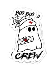 Boo boo crew Sticker - 4 pack (Vertical) front