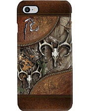 Hunting Leather Pattern Print Phone Case i-phone-8-case