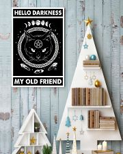 Hello darkness my old friend 11x17 Poster lifestyle-holiday-poster-2