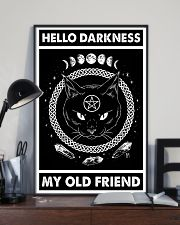 Hello darkness my old friend 11x17 Poster lifestyle-poster-2