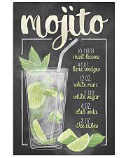 Mojito recipe 11x17 Poster front
