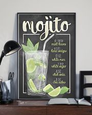 Mojito recipe 11x17 Poster lifestyle-poster-2