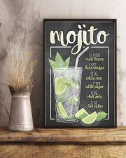 Mojito recipe 11x17 Poster lifestyle-poster-3