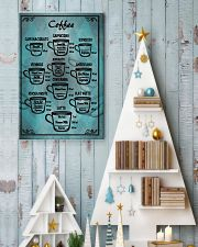 Blue vintage coffee poster 11x17 Poster lifestyle-holiday-poster-2