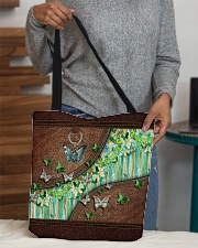 Butterfly leather pattern tote All-over Tote aos-all-over-tote-lifestyle-front-10