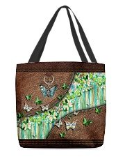 Butterfly leather pattern tote All-over Tote front