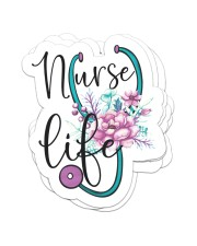Nurse life Sticker - 4 pack (Vertical) front