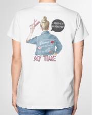 I became a hairdresser Ladies T-Shirt garment-tshirt-ladies-back-01