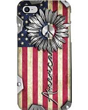 Patriotic Metal pattern print  Phone Case i-phone-8-case