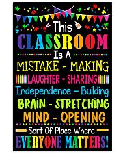 In this classroom 11x17 Poster front