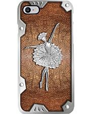 Ballerina Metal Pattern Print  Phone Case i-phone-8-case
