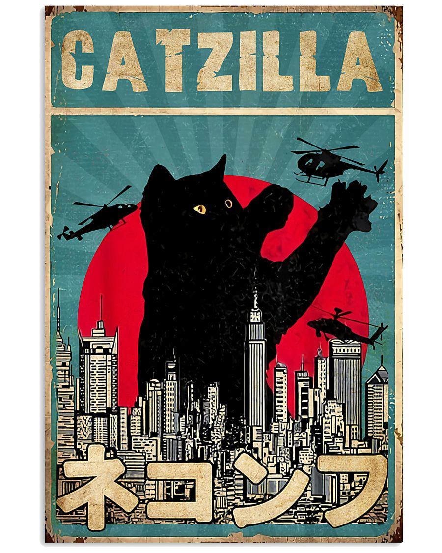 Catzilla 11x17 Poster