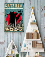 Catzilla 11x17 Poster lifestyle-holiday-poster-2