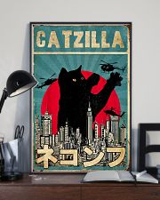 Catzilla 11x17 Poster lifestyle-poster-2