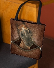 Funny horse All-over Tote aos-all-over-tote-lifestyle-front-02
