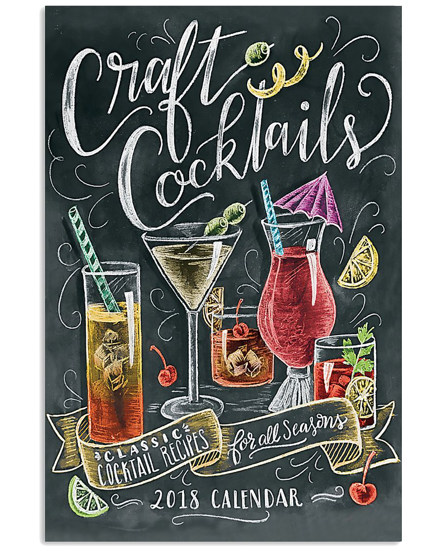 Cocktails 11x17 Poster