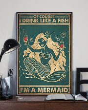 Of course I drink like a fish 11x17 Poster lifestyle-poster-2