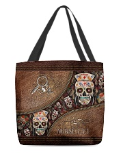 Nurse life All-over Tote front