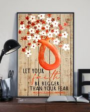 Let your faith be bigger than your fear 11x17 Poster lifestyle-poster-2