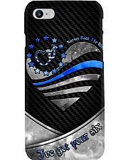 Nurses Back the blue Phone Case i-phone-8-case