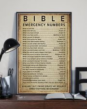 Bible emergency numbers 11x17 Poster lifestyle-poster-2