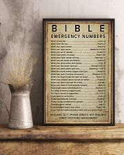 Bible emergency numbers 11x17 Poster lifestyle-poster-3