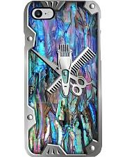 Hairdresser Metal Print Pattern Phone Case i-phone-8-case