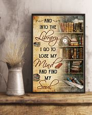 And into the Library I go 11x17 Poster lifestyle-poster-3