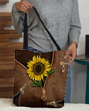 Sunflower All-over Tote aos-all-over-tote-lifestyle-front-10