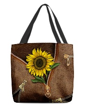 Sunflower All-over Tote back