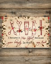 Hairdresser poster- 5400x3600 17x11 Poster poster-landscape-17x11-lifestyle-14