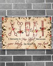 Hairdresser poster- 5400x3600 17x11 Poster poster-landscape-17x11-lifestyle-18