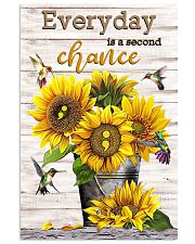 Everyday is a second chance 11x17 Poster front