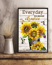 Everyday is a second chance 11x17 Poster lifestyle-poster-3