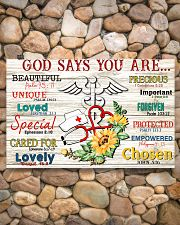 God says you are 17x11 Poster poster-landscape-17x11-lifestyle-15