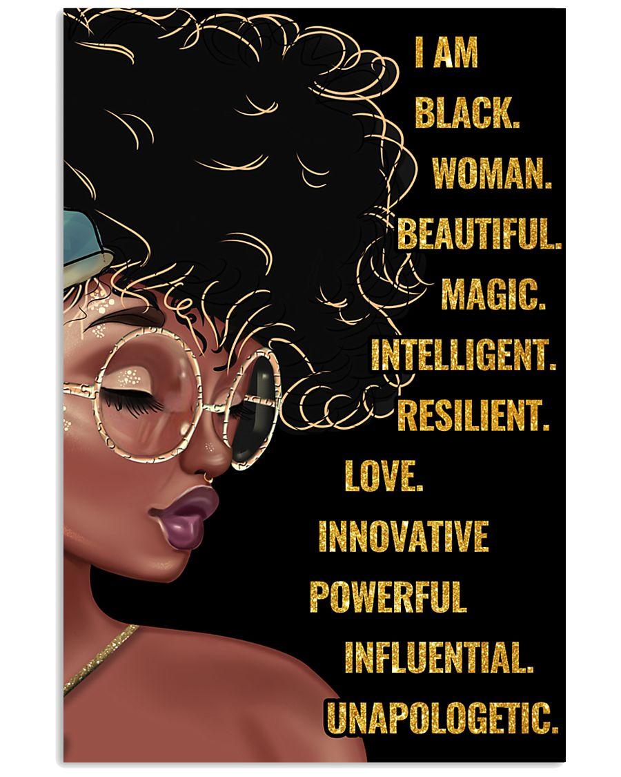 Black queen 11x17 Poster