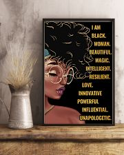 Black queen 11x17 Poster lifestyle-poster-3