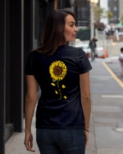 You are sunshine Ladies T-Shirt lifestyle-women-crewneck-back-1