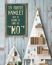 Hamlet Quote 11x17 Poster lifestyle-holiday-poster-2