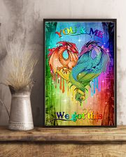 You and me we got this 11x17 Poster lifestyle-poster-3