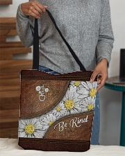Be kind All-over Tote aos-all-over-tote-lifestyle-front-10
