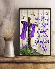 I can do all things through Christ 11x17 Poster lifestyle-poster-3