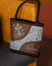 Faith Leather pattern print All-over Tote aos-all-over-tote-lifestyle-front-02