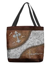 Faith Leather pattern print All-over Tote back