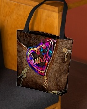 Nurse Leather Pattern Print All-over Tote aos-all-over-tote-lifestyle-front-02