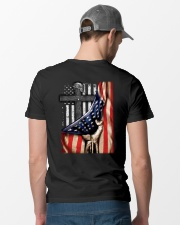 American flag Classic T-Shirt lifestyle-mens-crewneck-back-6