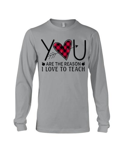 You are the reason I love to teach